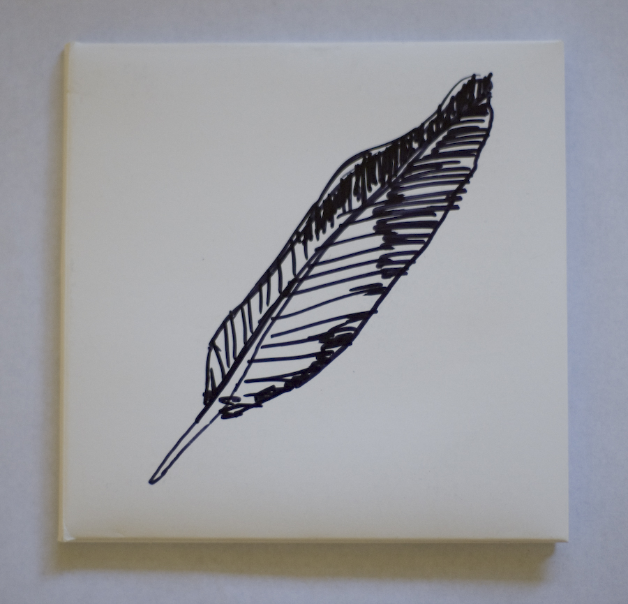 feather drawing-reed wallsmith